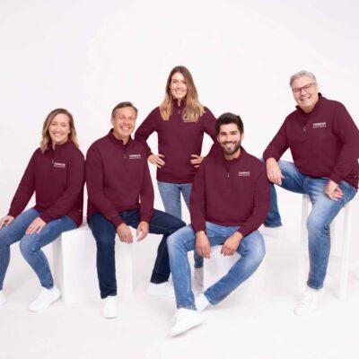 Firmen-Teambekleidung